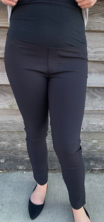 Maternity Over Bump Best Fitting Black Pants