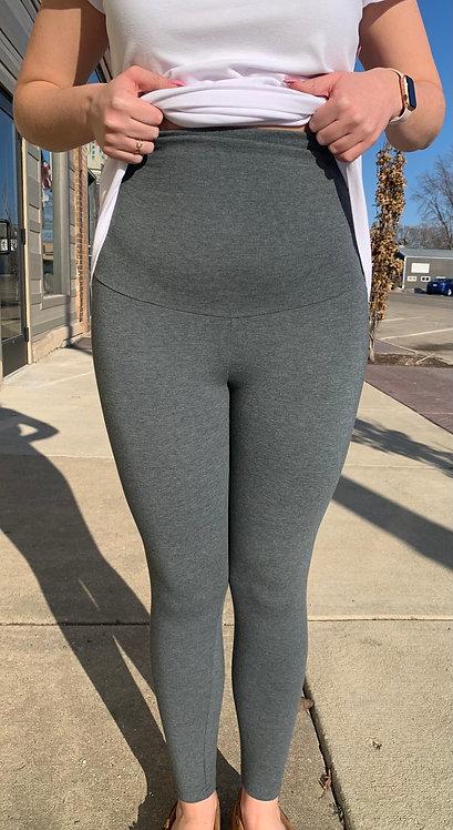 Maternity Grey Leggings