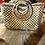 Thumbnail: Woven Straw Purse Fully Lined & Zip Closure