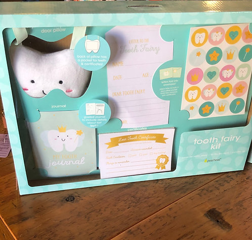 Tooth Fairy Pillow Kit For Good Girls & Boys