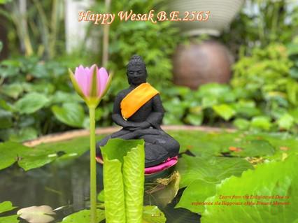 Happy Wesak B.E.2565 by Chou Terk Chuan