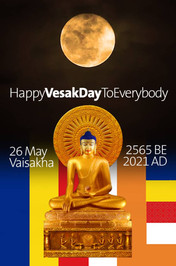 Happy Vesak Day To Everybody from Hor Kwei On