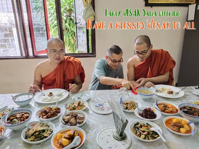 Have a blessed Wesak to all from Dato' Tan Gin Soon