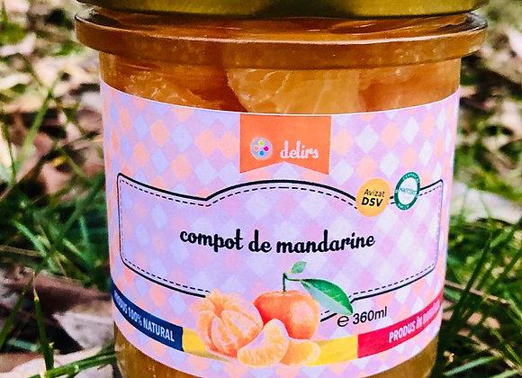Compot de mandarine