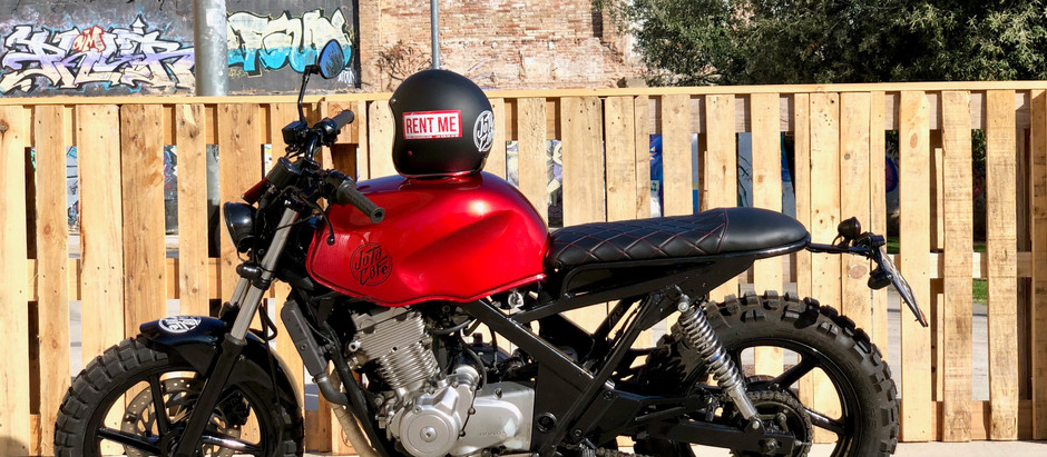 Rent a Racing Motorcyle Cafe Racer or Buying?