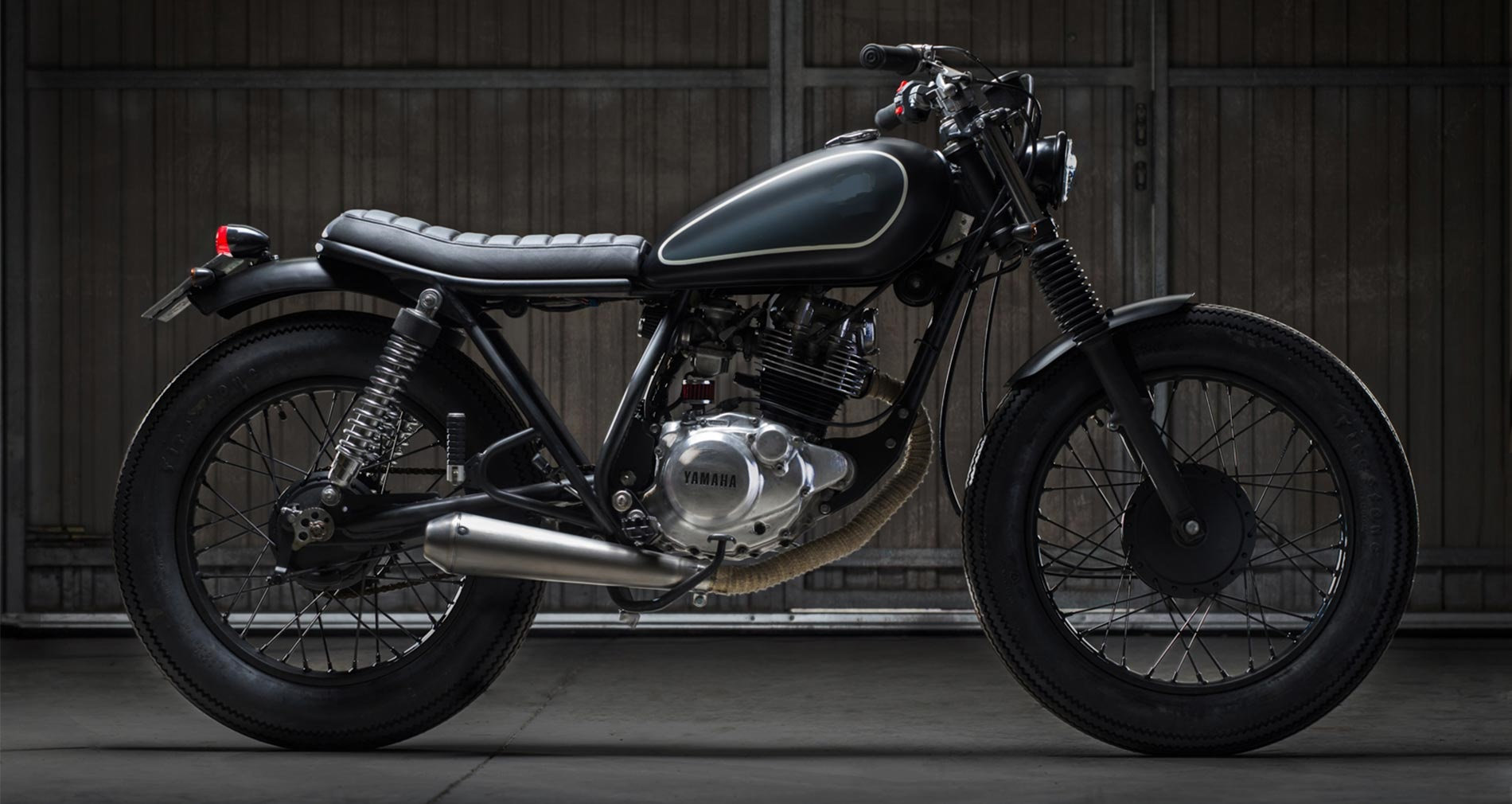 Yamaha SR125cc - Location: BARCELONA