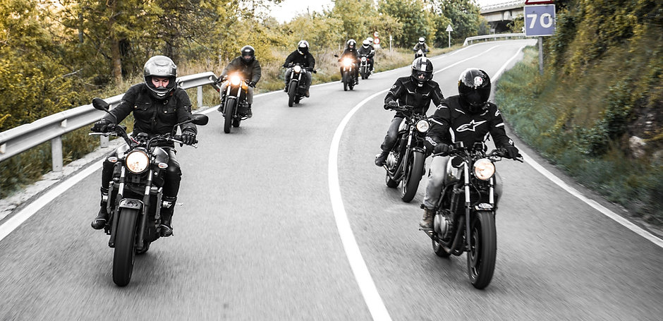 Jota Cafe Ibiza moto ride