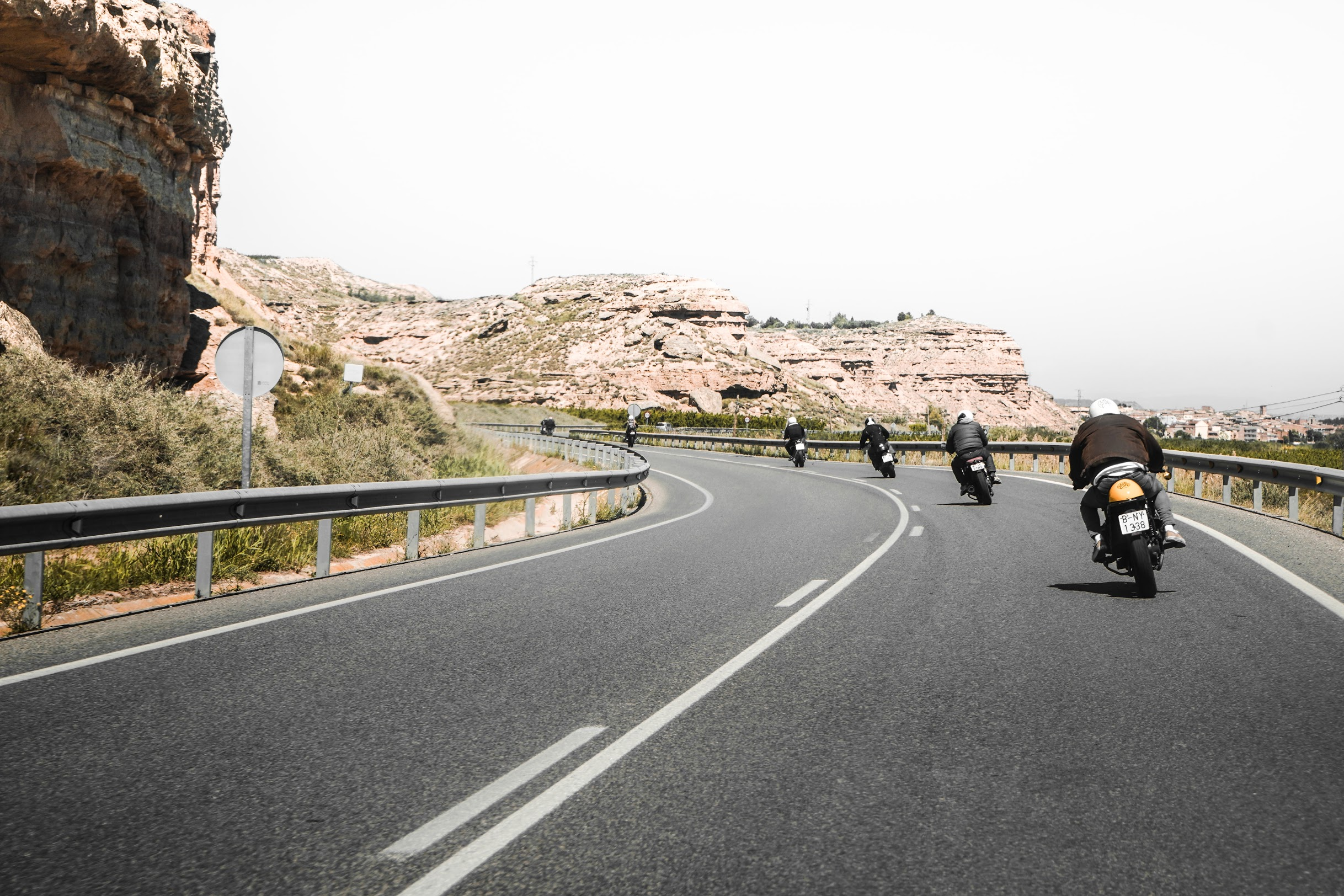 Caferacer rental Ibiza