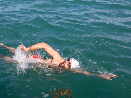 What Swimming The Channel Taught Me About Willpower