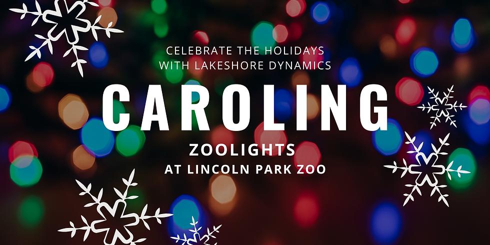 Caroling at ZooLights