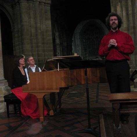 Schumann Dichterliebe (soloist Richard R