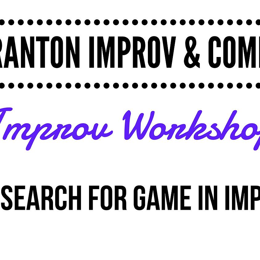 FRINGE Workshop: Search for the Game in Improv @ Scranton Fringe Festival