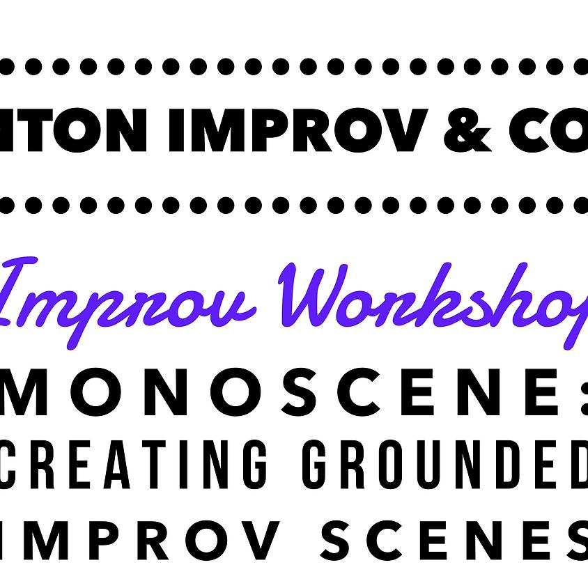 FRINGE Workshop: Monoscene - Creating Grounded Improv Scenes @ Scranton Fringe Festival
