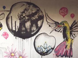 Extinction Rebellion truck mural