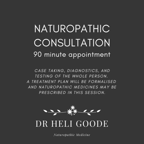 NATUROPATHY: Request a CONSULTATION