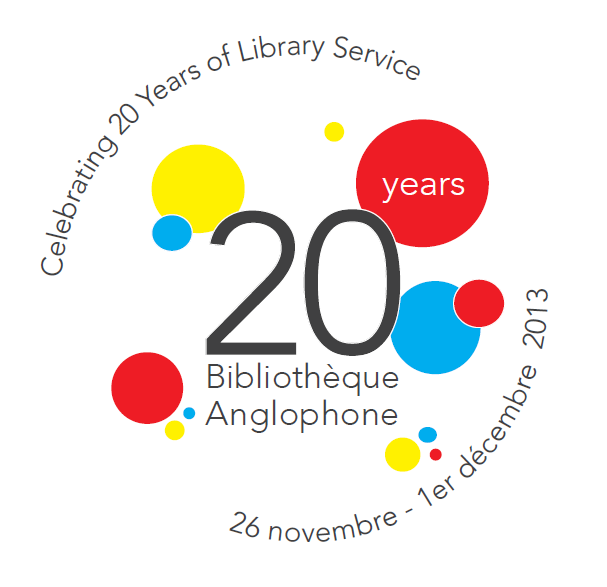 Logo - Bibliothèque Anglophone
