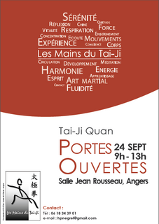 Portes ouvertes - Tai-Ji Quan