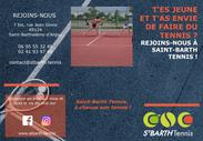 Dépliant Saint Barth Tennis