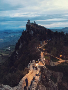 San Marino Three Castles