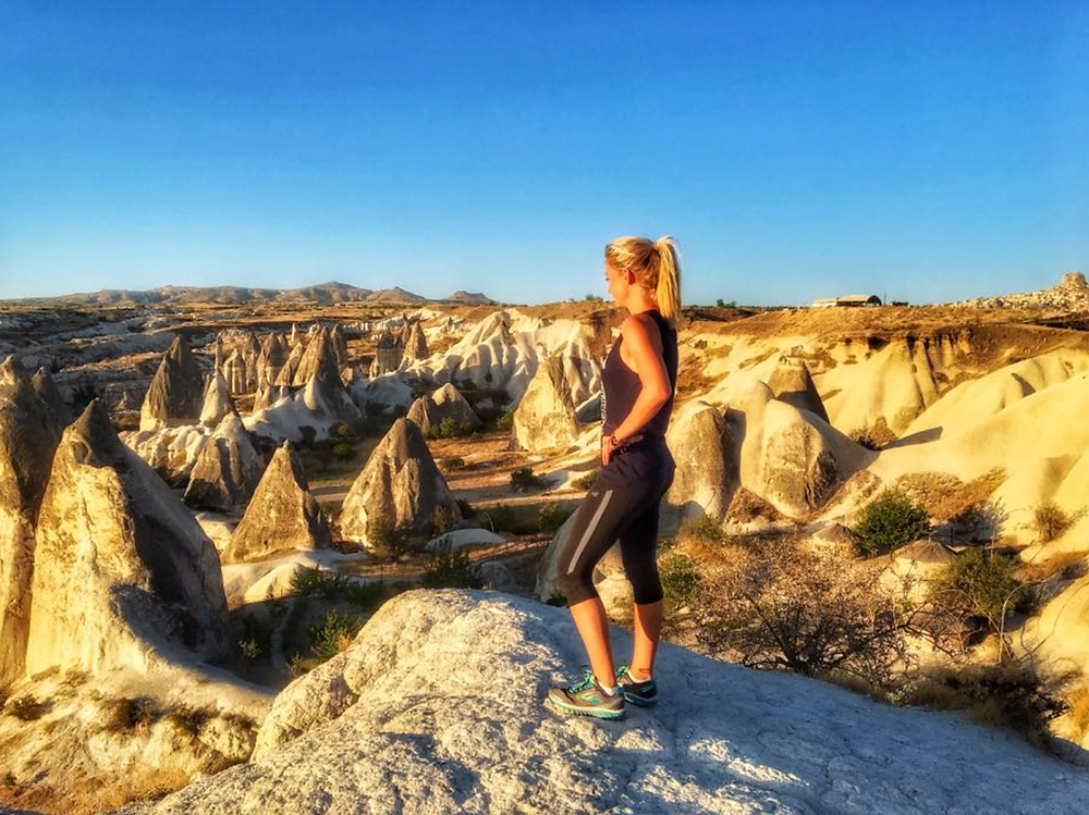 Morning Run in Cappadocia
