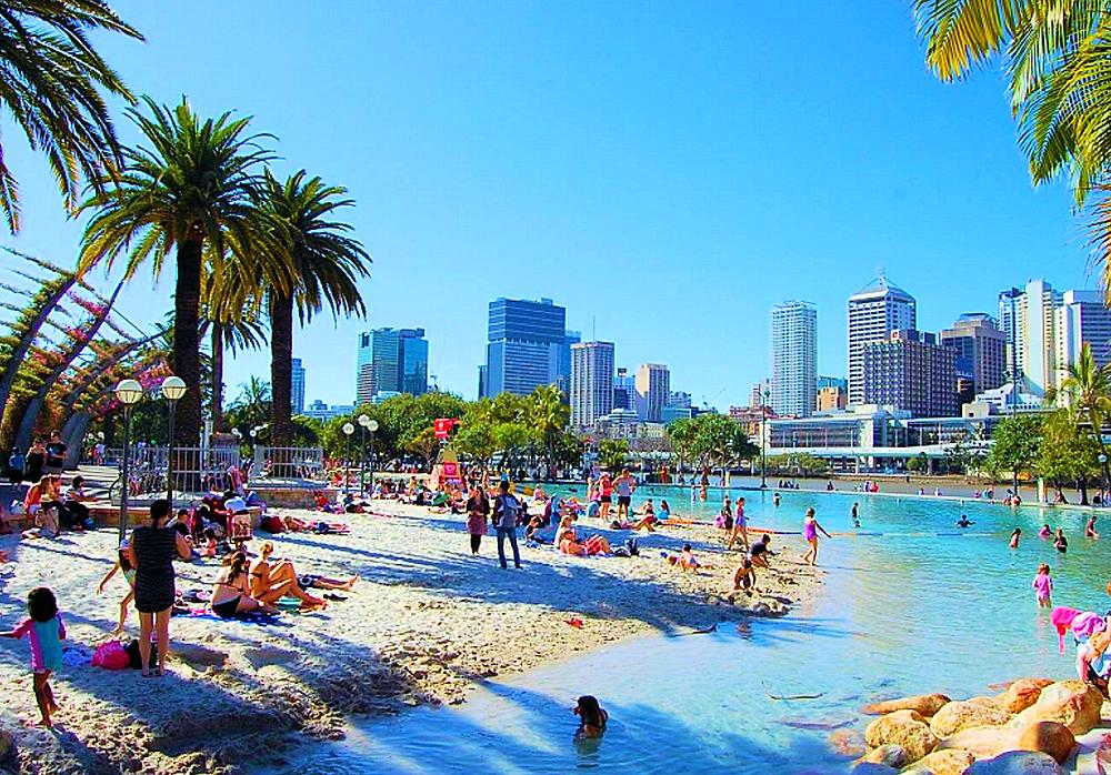 South Bank Beach Brisbane