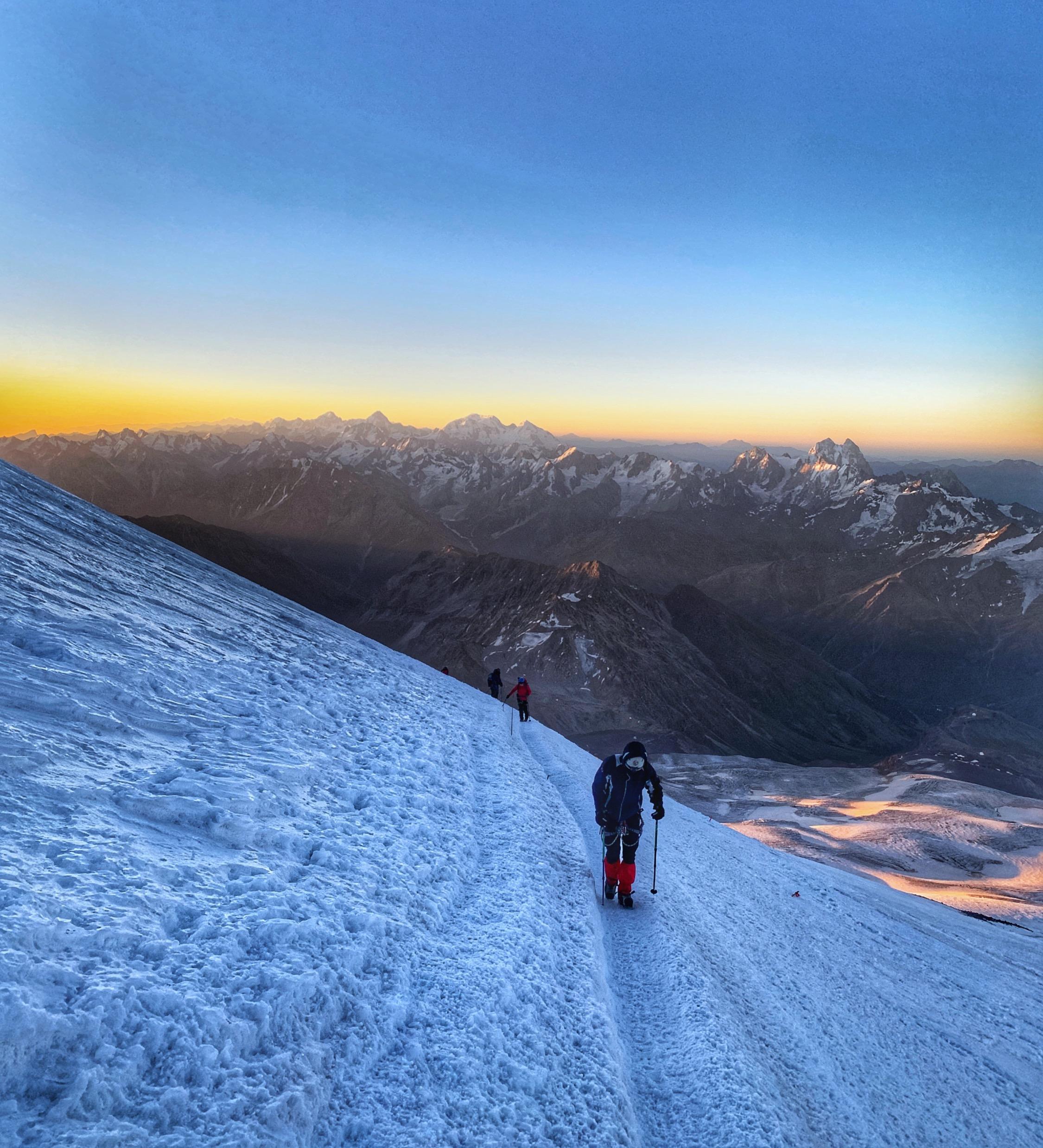 Summit Mt. Elbrus