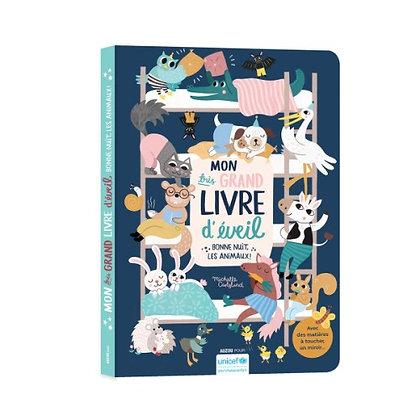 Mon très grand livre d'éveil - bonne nuit les animaux ! - Michelle Carlslund