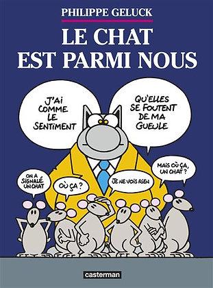 Le Chat Vol. 23, Le Chat est parmi nous - Philippe Geluck