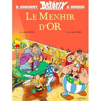Astérix - Hors collection - Album illustré : Le Menhir d'Or