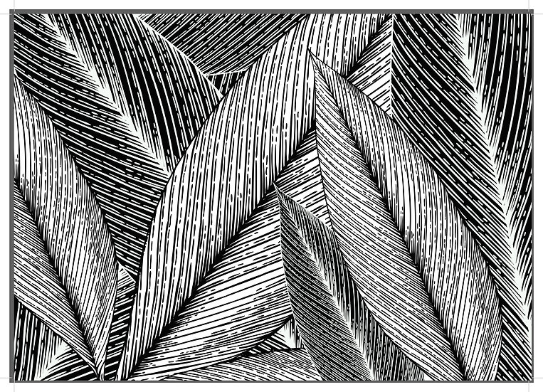 leafs black and white