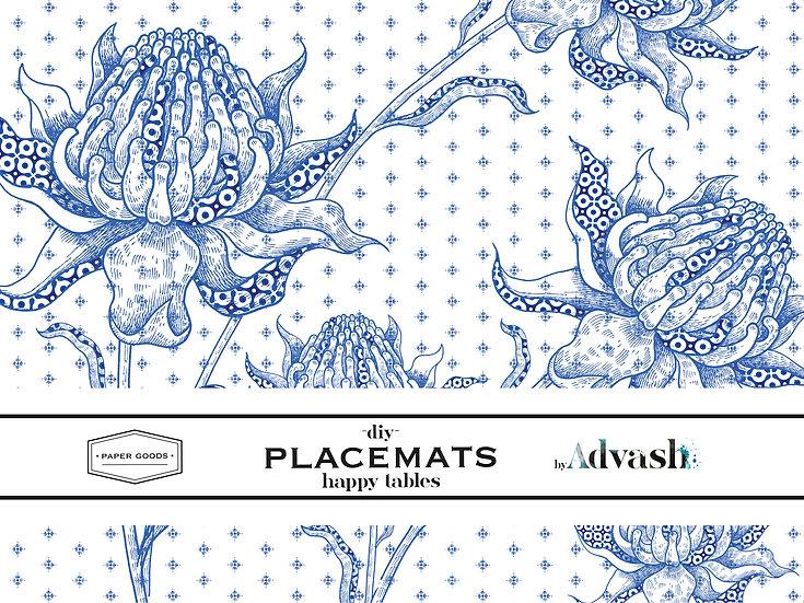 פלייסמט protea  1