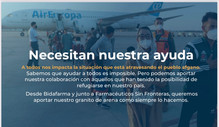 FSFE prepara una donación de material sanitario e higiénico para los refugiados afganos  en España