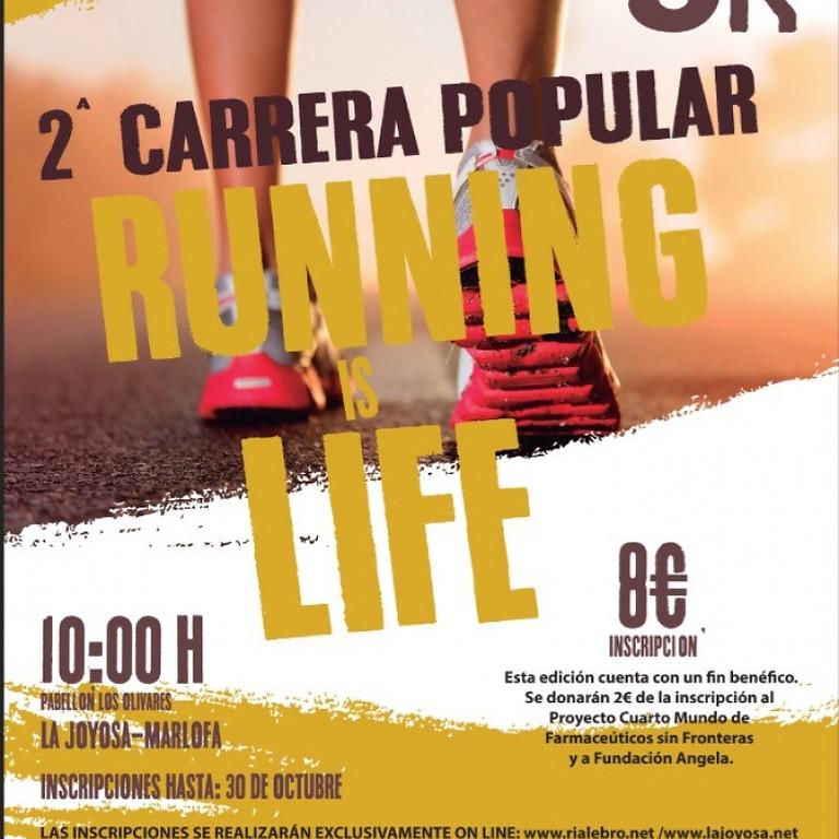 2 ª Carrera Popular Running Life - Noviembre 2017