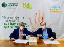 FSFE y Bidafarma lanzan la campaña-Su salud está en tus manos-