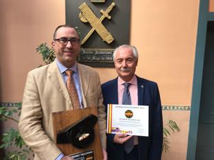 FSFE recibe el Tricornio Solidario de la Asociación de Guardia Civiles Solidarios