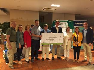 Éxito del Campeonato de Golf del COFM en favor del proyecto Más Saludable
