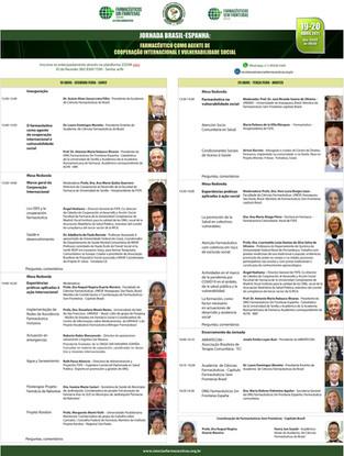 FSFE organiza las I Jornadas El Farmacéutico como agente de cooperación internacional-España-Brasil