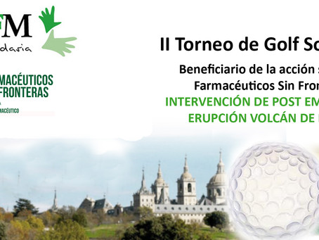 II Torneo de Golf COFMadrid-Post Emergencia Guatemala