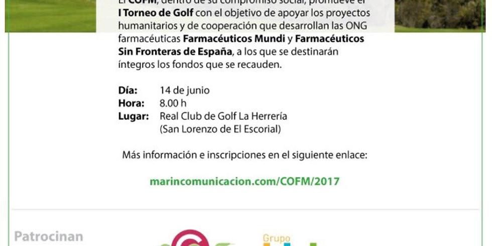 ITorneo de Golf Solidario a beneficio FSFE.- Mayo 2017