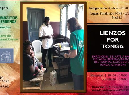 FSFE une arte y sensibilización con la exposición  Lienzos por Tonga