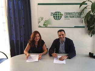Acuerdo de colaboración de FSFE y el COF Palencia