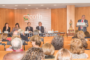 El COF Huelva,entrega la Carabela de oro a nuestro Presidente Rafael Martínez