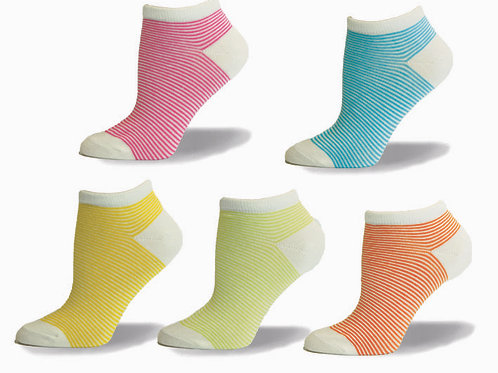 6493 COLOR STRIPES -5PK
