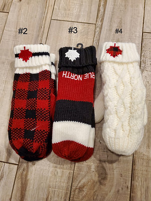 SELECTION OF MITTENS
