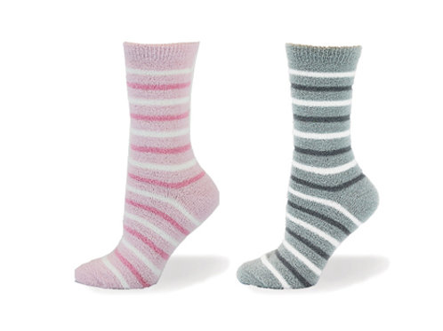 6353- SOFT TACTEL STRIPE SOCK