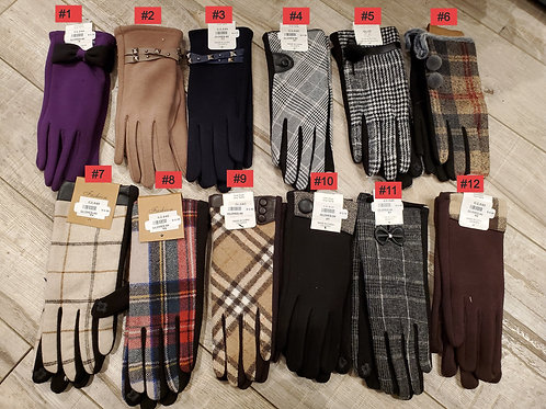 SELECTION OF GLOVES