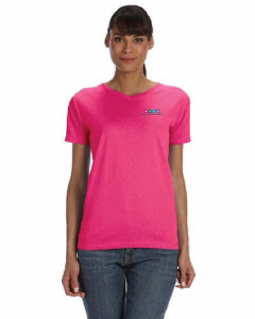 Ladies (WCLC embroidered) V-neck