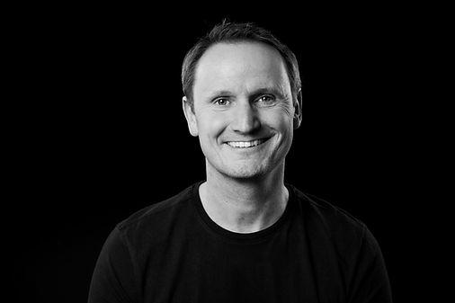 Portrait photographe noir et blanc