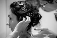 Preparation for a bride