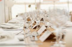 Pretty wedding table